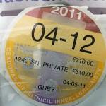 Podatek Motor Tax w Irlandii 2013