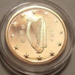Ile kosztuje bicie euro-monet w Irlandii?